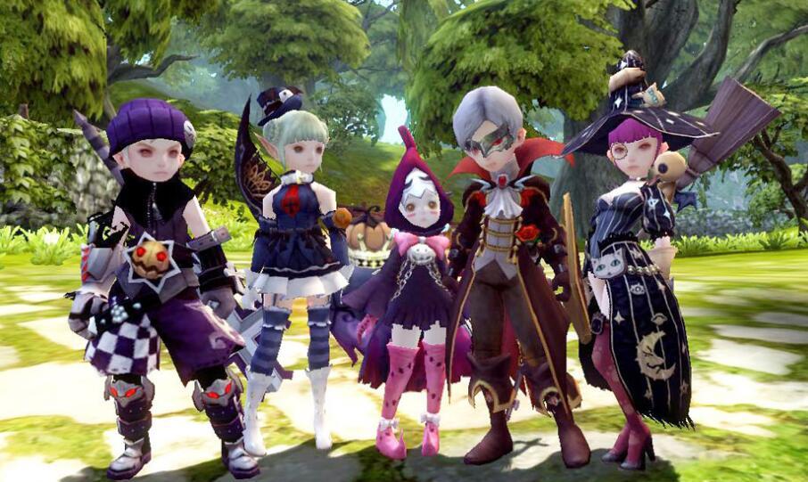 龙之谷游戏人物图片